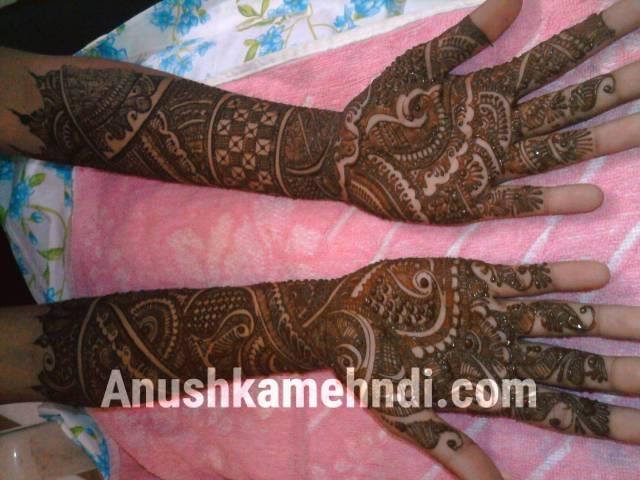 Bridal Mehndi : Bridal mehndi designs anushka